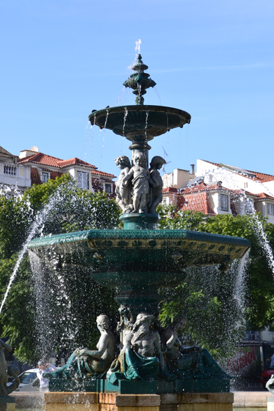 bubbling water (Rossio)