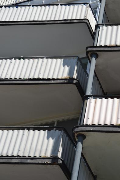 balconies in Berlin